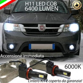 Kit Full LED Anabbaglianti H11 6400 LUMEN FIAT FREEMONT
