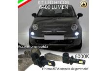 Kit Full LED H1 Abbaglianti FIAT 500