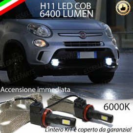 Kit Full LED Fendinebbia H11 6400 LUMEN FIAT 500L
