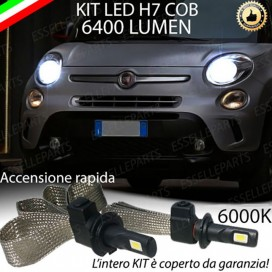 Kit Full LED H7 6400 LUMEN Anabbaglianti FIAT 500L