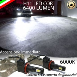 Kit Full LED Fendinebbia H11 6400 LUMEN FORD FOCUS III