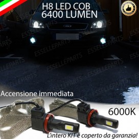 KitFull LED H8 6400 LUMEN FendinebbiaFORDC-MAX I