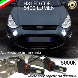 Kit Full LED H8 6400 LUMEN Fendinebbia FORD S-MAX I