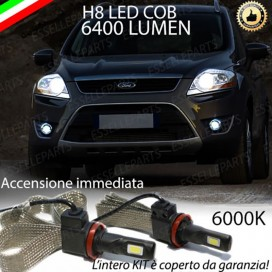 Kit Full LED H8 6400 LUMEN Fendinebbia FORD KUGA I