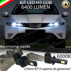 KIT FULL LED H7 Anabbaglianti CIVIC VIII