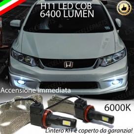 KitFull LEDFendinebbia H11 6400 LUMENHONDACIVICIX