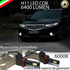 KitFull LEDFendinebbia H11 6400 LUMENHONDAACCORD VIII