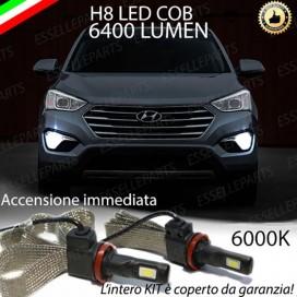 KitFull LED H8 6400 LUMEN FendinebbiaHYUNDAISANTA FE III