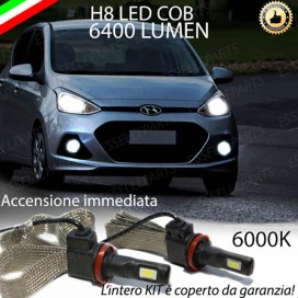 Kit Full LED H8 6400 LUMEN Fendinebbia HYUNDAI i10 II
