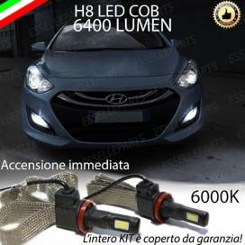 KitFull LED H8 6400 LUMEN FendinebbiaHYUNDAII30 II