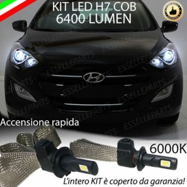 Kit Full LED H7 6400 LUMEN Anabbaglianti HYUNDAI I30 II