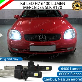 KitFull LED H7 6400 LUMEN AnabbagliantiMERCEDES SLK R170