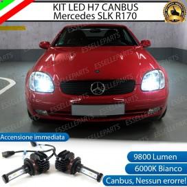 Kit Full LED H7 9800 LUMEN Anabbaglianti MERCEDES SLK R170