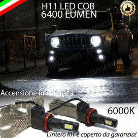 Kit Full LED Fendinebbia H11 6400 LUMEN JEEP RENEGADE
