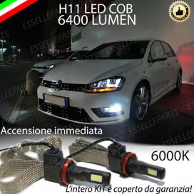 Kit Full LED Fendinebbia H11 6400 LUMEN VW GOLF VII