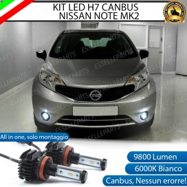 Kit Full LED Fendinebbia H11 9800 LUMEN per NISSAN NOTE II