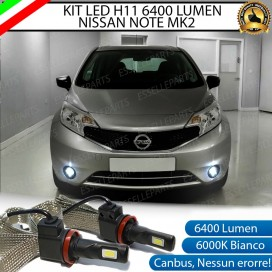 Kit Full LED Fendinebbia H11 6400 LUMEN NISSAN NOTE II
