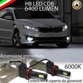 KitFull LED H8 6400 LUMEN FendinebbiaKIAOPTIMA