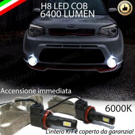 Kit Full LED H8 6400 LUMEN Fendinebbia KIA SOUL II