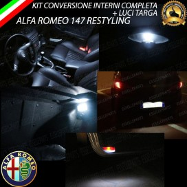 Led interni + Targa