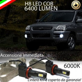 Kit Full LED H8 6400 LUMEN Fendinebbia KIA SPORTAGE II