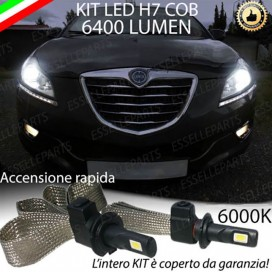 Kit Full LED H7 6400 LUMEN Anabbaglianti LANCIA DELTA III