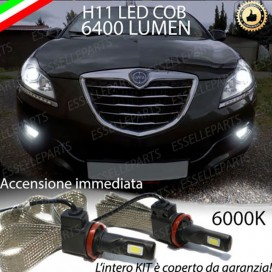 KitFull LEDFendinebbia H11 6400 LUMENLANCIADELTA III