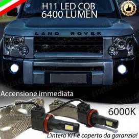 KitFull LEDFendinebbia H11 6400 LUMENLAND ROVERDISCOVERY IV