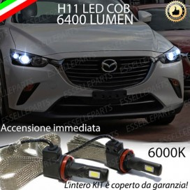Kit Full LED Anabbaglianti H11 6400 LUMEN MAZDA CX-3