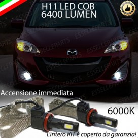 KitFull LEDFendinebbia H11 6400 LUMENMAZDA5 II
