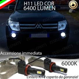 KitFull LEDFendinebbia H11 6400 LUMENMITSUBISHIPAJERO IV