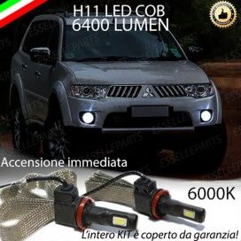 KitFull LEDFendinebbia H11 6400 LUMENMITSUBISHIPAJERO SPORT II