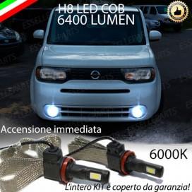 KitFull LED H8 6400 LUMEN FendinebbiaNISSAN CUBE