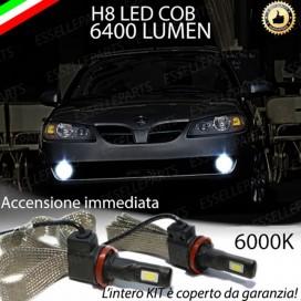 KitFull LED H8 6400 LUMEN FendinebbiaNISSANALMERA II DAL 08-2002