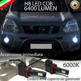 KitFull LED H8 6400 LUMEN FendinebbiaNISSANX TRAIL I
