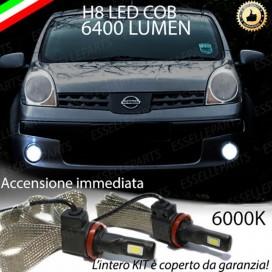 KitFull LED H8 6400 LUMEN FendinebbiaNISSANNOTE I