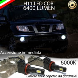 Kit Full LED Fendinebbia H11 6400 LUMEN NISSAN PATHFINDER III