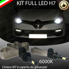 Kit Full LED H7 6400 LUMEN Anabbaglianti RENAULT CLIO IV