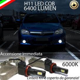 KitFull LEDFendinebbia H11 6400 LUMENOPELTIGRA TWIN TOP