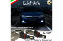 Kit Full LED H11 Fendinebbia OPEL TIGRA TWIN TOP