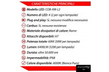 KIT FULL LED H7 Anabbaglianti 208
