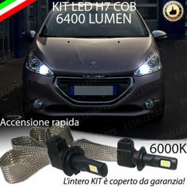 KitFull LED H7 6400 LUMEN AnabbagliantiPEUGEOT208