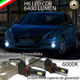 Kit Full LED H8 6400 LUMEN Fendinebbia PEUGEOT 508