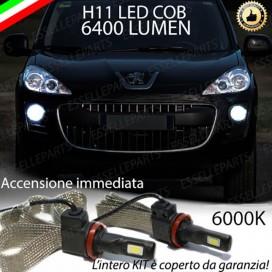 KitFull LEDFendinebbia H11 6400 LUMENPEUGEOT 4007